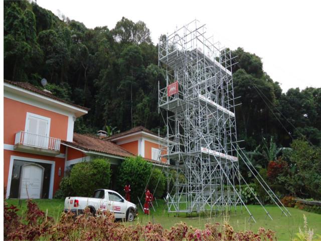 Obra no Alto da Boa Vista - RJ